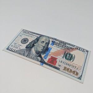 $100 Canvas Wallet